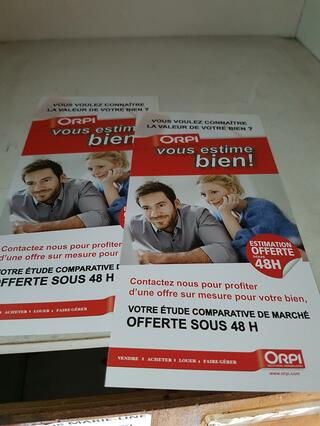 Merci Orpi, stop publicité