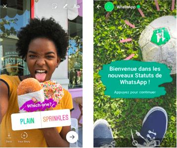 Envoyez vos stories Instagram sur Whatsapp