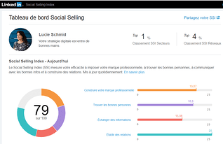 SSI social selling index Linkedin