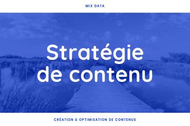 Stratégie de contenu | MixData