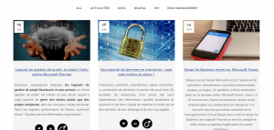 Articles de blog bluesoft