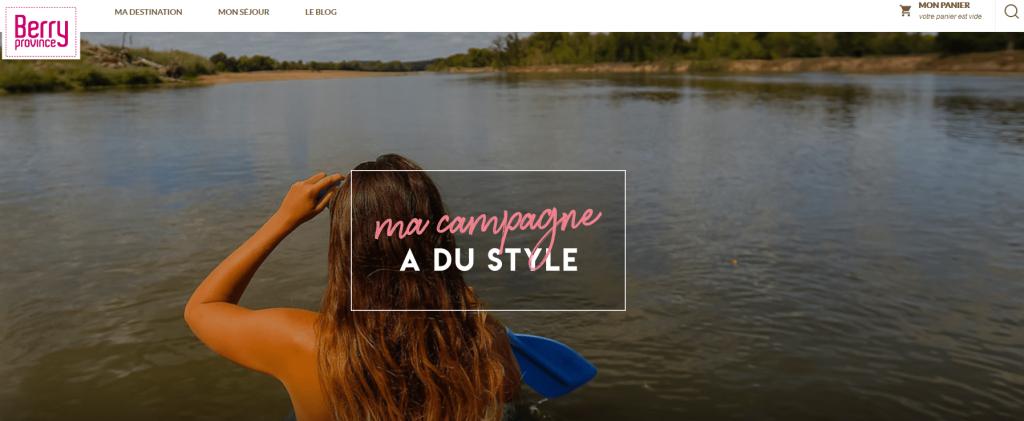 campagne digitale tourisme durable berry