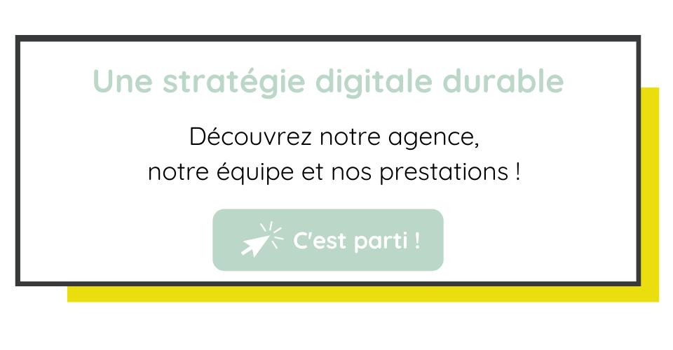 stratégie digitale durable découvrez notre agence Lyon Marseille