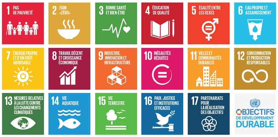objectifs du développement durable