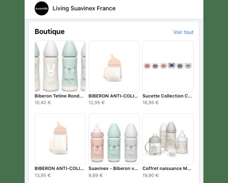 SUAVINEX boutique facebook